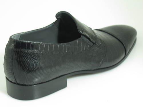 Uomo Italiano Designer Giovanni Conti 2768, Slip On Dressy Shoes