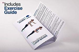 4 Pack Premium Bandas de Resistencia para Dominadas - Cinta Gomas Resistencia Fitness, Banda de Ejercicio Fuerte para Crossfit, Pull ups, Musculacion, Entrenamiento, Levantamiento de Pesas.: Amazon.es: Deportes y aire libre