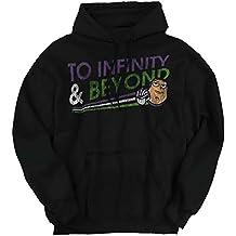 Brisco Brands Infinity Beyond Funny Shirt | Buzz Lightyear Weed Marijuana Hoodie Sweatshirt