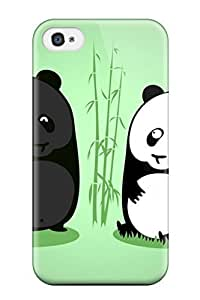 New Fashion Premium Tpu Case Cover For Iphone 4/4s - Tanned Panda by icecream design