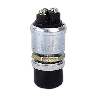 Waterproof 50A 12V DC Push Button Momentary Starter Ignition Switch For Cars: Car Electronics