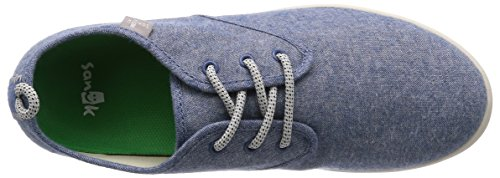 Sanuk Mens Guide TX Shoe Blue Chambray