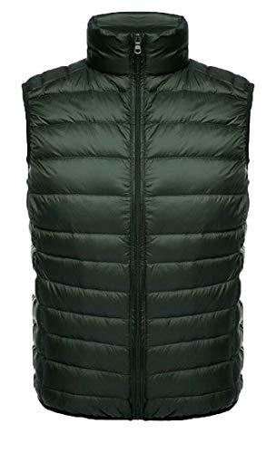 Men's Packable Puffer Waistcoat TTYLLMAO Ultralight Jacket Vest 4 Coat Down TXxgaqd7wx
