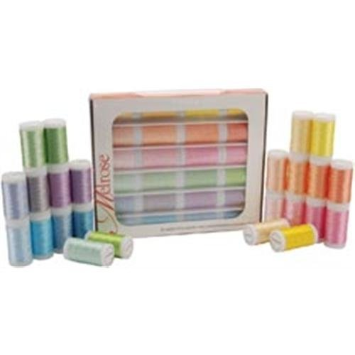 Iris Melrose Trilobal Polyester Thread, Pastels, Assorted Colors