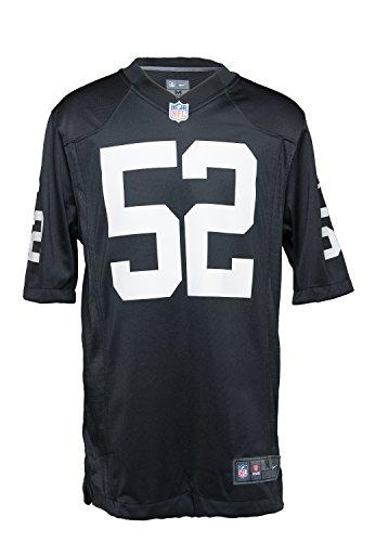 Nike Men's Oakland Raiders Khalil Mack NFL Jersey - Black - X-Large