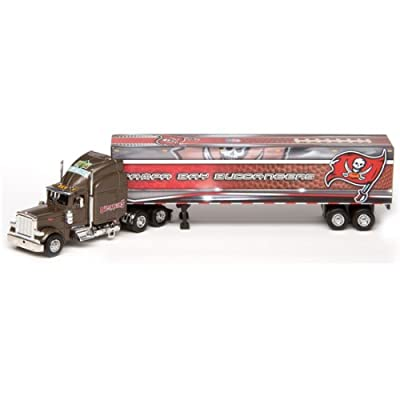 Tampa Bay Buccaneers Upper Deck Collectibles NFL Peterbilt Tractor-Trailer
