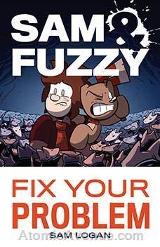 (Sam & Fuzzy TPB #1A VF/NM ; Blind Ferret comic book)