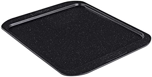 Prestige Nonstick Pan Cookie Baking Sheet Black with Gold Speckle 12.5 Inch