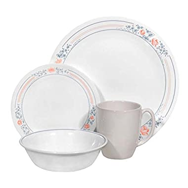 Corelle Livingware 16 piece Dinnerware Set, Service for 4, Apricot Grove
