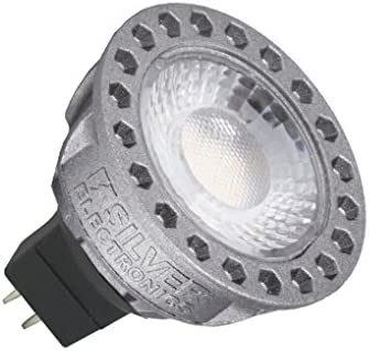 Silver Electronics LED Compact Dicroica, GU5.3, 8 Watts, Gris W