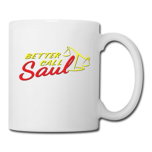 ERICP Better Call Saul Logo Ceramic Coffee Mug