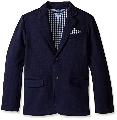 282e348a4 Tommy Hilfiger Boys' Knit Blazer With Gingham Lining - Kid's Blazers