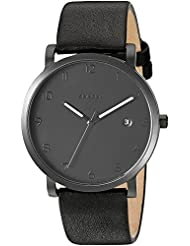 Skagen Mens SKW6308 Hagen Black Leather Watch