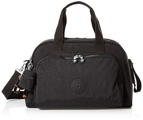 Kipling Women's Camama Diaper Bag, True Black, One Size