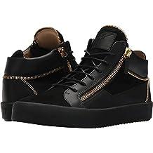 Giuseppe Zanotti Mens May London Mid Top Zipper Sneaker
