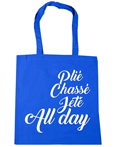 HippoWarehouse Bag Chass Day Pli Shopping 10 x38cm Jet Tote litres Blue Gym Beach Cornflower All Ballet 42cm qxxISw