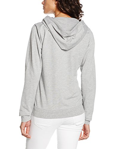 Tommy Hilfiger Iconic Lwk Zipthru Hoody, Parte Superior Deportiva Para Mujer Gris (GREY HEATHER BC05 004)