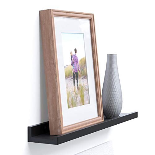 Denver Modern Floating Wall Ledge Shelf for Pictures and Fra