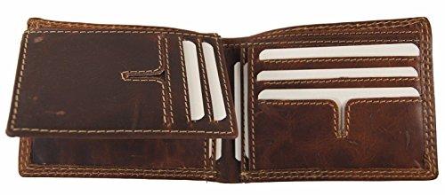 Purse Usa Bifold Hipster Flip Leather Mens Vintage Business Card Bifold Wallet Holder Up Credit EqqOC7