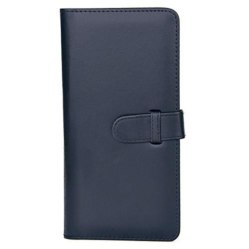 Sunmns Wallet PU Leather Photo Album for Fujifilm Instax Square SQ6 SQ10 SQ20 Film (Black)