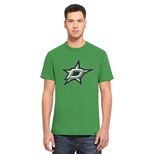 - NHL Dallas Stars Men's '47 Scrum Basic Tee, X-Large, Kelly