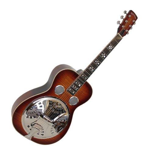 - Paul Beard Deluxe Roundneck Resonator Guitar w/ Gig Bag