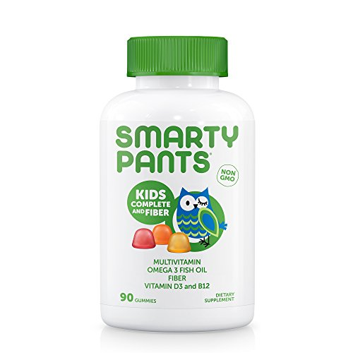 SmartyPants Gummy Vitamins Kids Complete and Fiber Vitamins