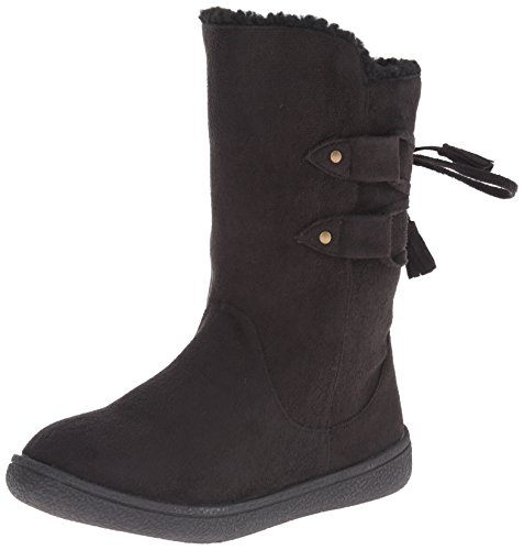 Western Chief Anna Micofiber Boot (Toddler/Little Kid/Big Kid), Black, 10 M US Toddler