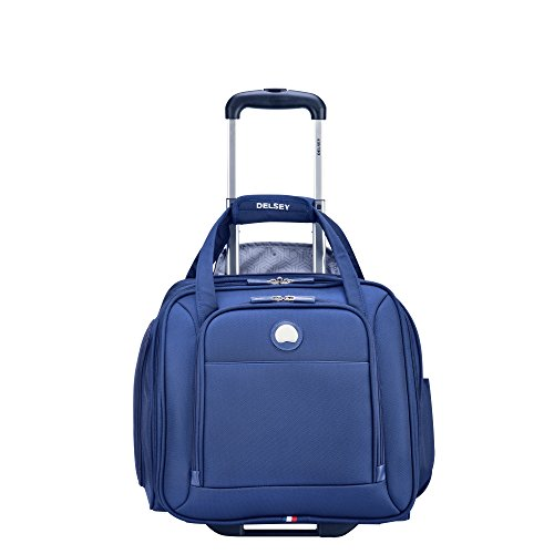 Delsey Luggage Ez Pack 2 Wheeled Underseater, Navy