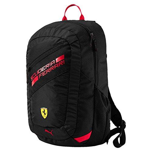 Puma Ferrari Fan Backpack In Black (Ferrari In Red)