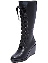 Sorel Women's After Hours Tall Wedge Boots