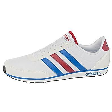 adidas Neo V Racer Mens White Size: 11.5 UK: Amazon.co.uk