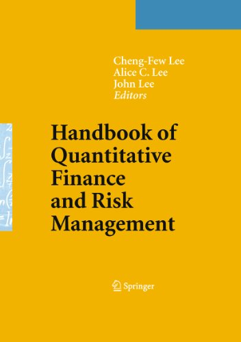 Handbook of Quantitative Finance and Risk Management Pdf