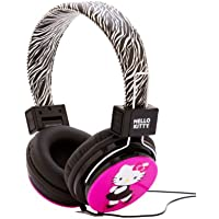 Hello Kitty HK-ZEB-WM Headphones with Zebra Design