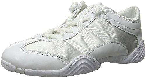 Nfinity Adult Evolution Cheer Shoes, White, 6