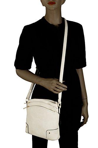 Kessi Bag Collection White Mia K Crossbody Farrow by MKF gFWxngp