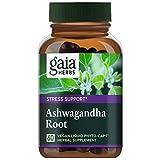 Gaia Herbs Ashwagandha Root Capsules, 60-Count (2-Pack)