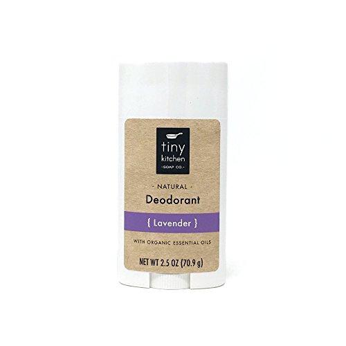 Natural Deodorant - Lavender - Handmade with Organic Ingredients