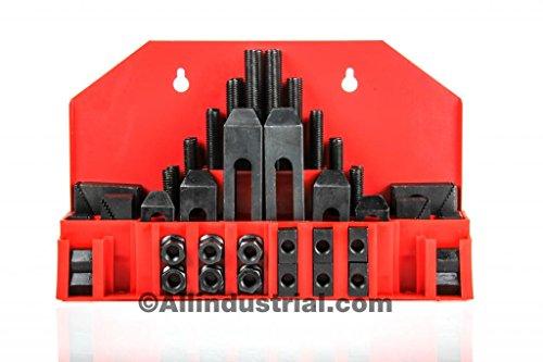 "58 Pc Pro-Series 7/16"" T-Slot Clamping Kit Bridgeport Mill S"