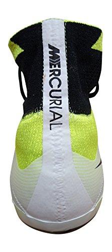 Nike Mercurial Superfly FG Botas de fútbol de entrenamiento, Hombre white black volt total orange 108
