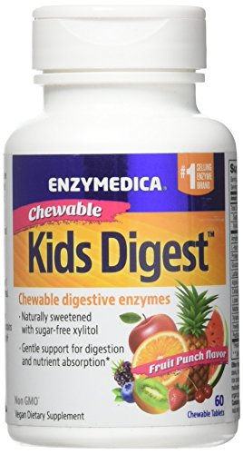 ENZYMEDICA Kids Digest Chewables