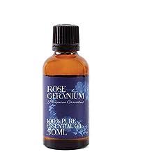 Mystic Moments Rose Geranium Essential Oil 100% Pure 50Ml