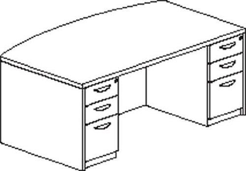 Mayline MDBDK3672ESP Mira Desk, Espresso -