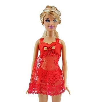 Pijama Lencería Ropa Interior Vestido Ropa para muñecas Barbie (Barco