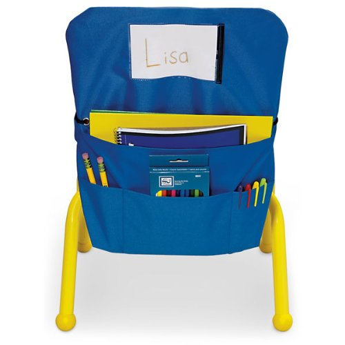 Nasco Polyester ChairMate, Small, 17'' x 16'', Blue, Grades K - 5 by Nasco