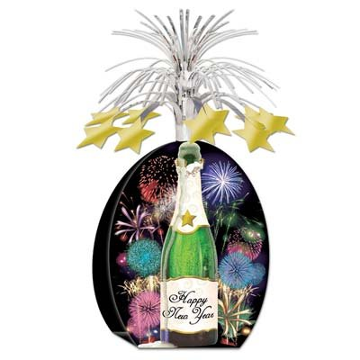 Beistle 1-Pack Happy New Year Centerpiece, 9
