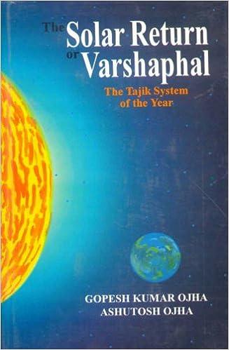Buy The Solar Return Or Varshaphal The Tajik System Of The Year