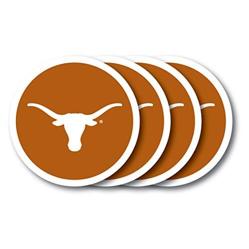 (NCAA Texas Longhorns Vinyl Coaster Set (Pack of 4))