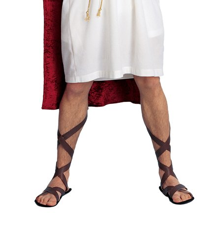 Theater Costume Jewelry (Roman Costume Sandals)