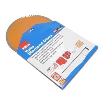 Hilka 51303009 9-inch Pro Craft Turbo Diamond Disc by Hilka